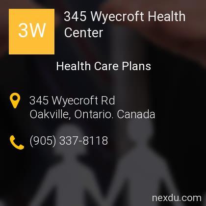 345 Wyecroft Health Center