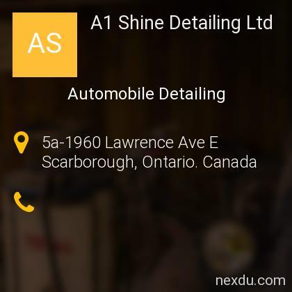 A1 Shine Detailing Ltd