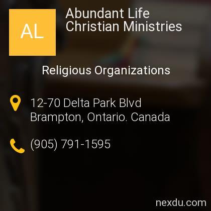 Abundant Life Christian Ministries