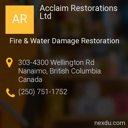 Acclaim Restorations Ltd