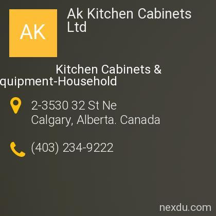 Ak Kitchen Cabinets Ltd In Horizon Calgary Phones And Address