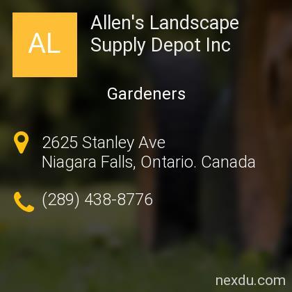Allen's Landscape Supply Depot Inc
