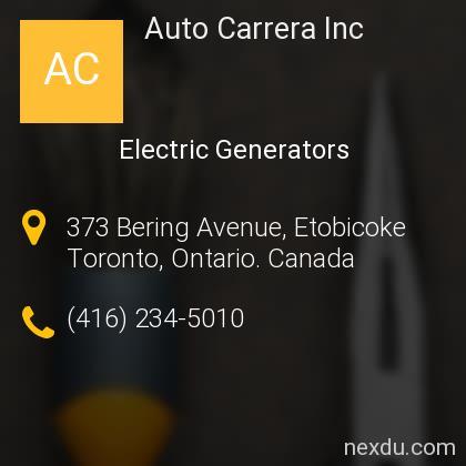 Auto Carrera Inc