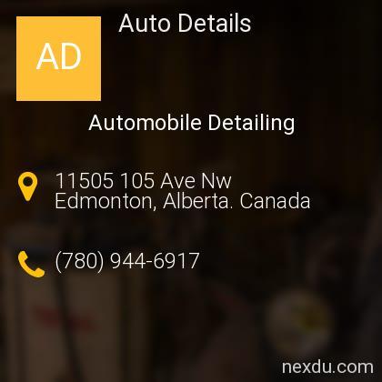 Auto Details