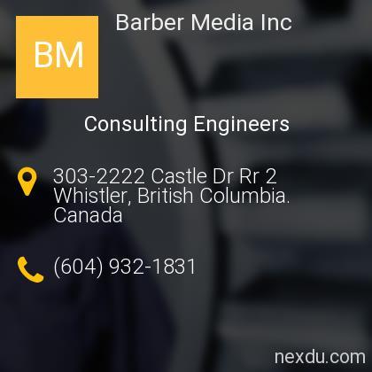 Barber Media Inc