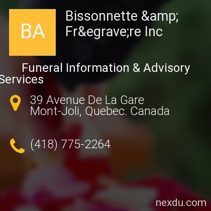 Bissonnette & Frère Inc
