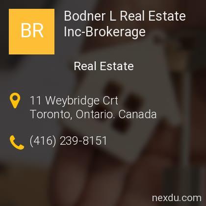 Bodner L Real Estate Inc-Brokerage