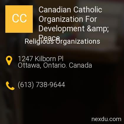 Canadian Catholic Organization For Development & Peace