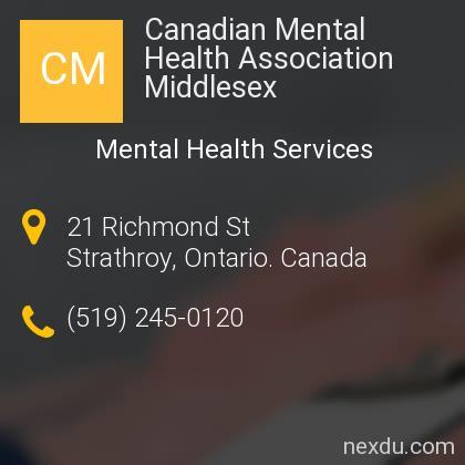 Canadian Mental Health Association Middlesex