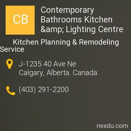 Contemporary Bathrooms Kitchen & Lighting Centre
