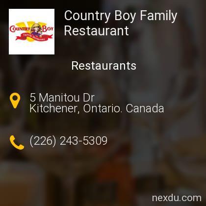 Country Boy Family Restaurant