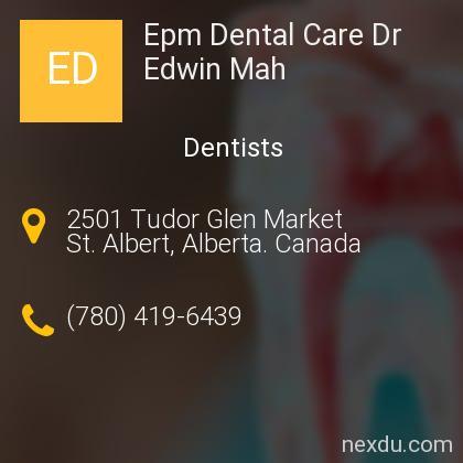 Epm Dental Care Dr Edwin Mah