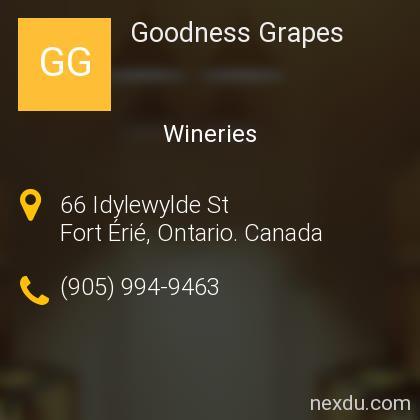 Goodness Grapes