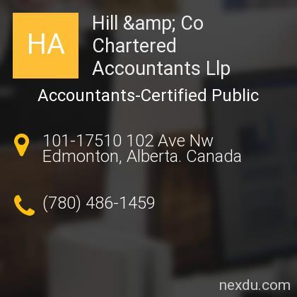 Hill & Co Chartered Accountants Llp