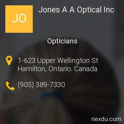 Jones A A Optical Inc