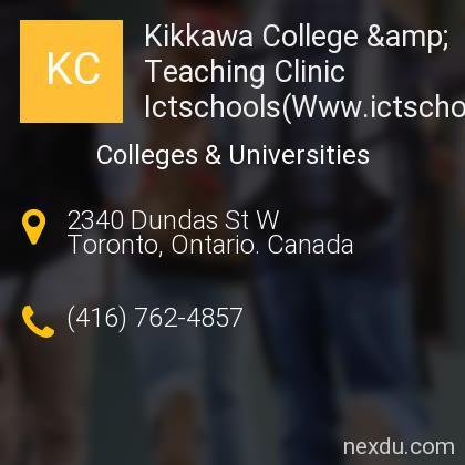 Kikkawa College & Teaching Clinic Ictschools(Www.ictschools.com)