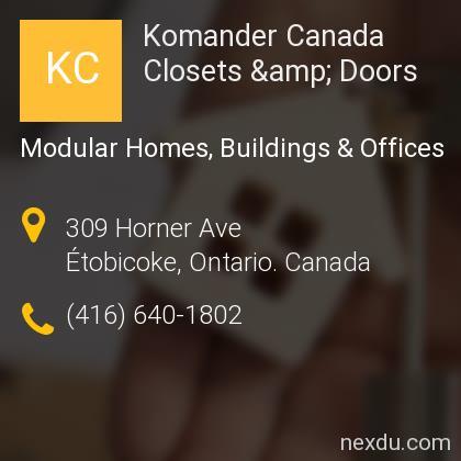 Komander Canada Closets & Doors
