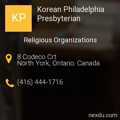 Korean Philadelphia Presbyterian