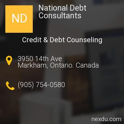 National Debt Consultants