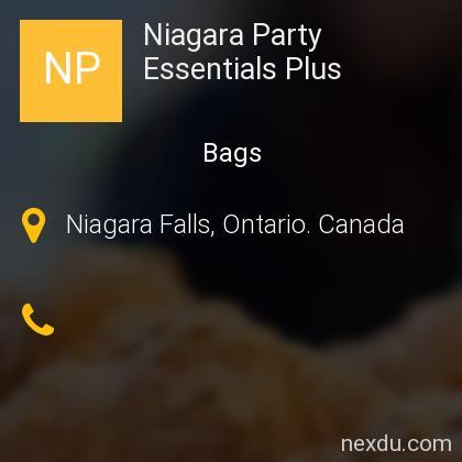 Niagara Party Essentials Plus