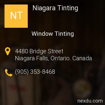 Niagara Tinting