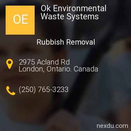 Ok Environmental Waste Systems