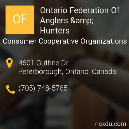 Ontario Federation Of Anglers & Hunters