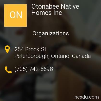 Otonabee Native Homes Inc