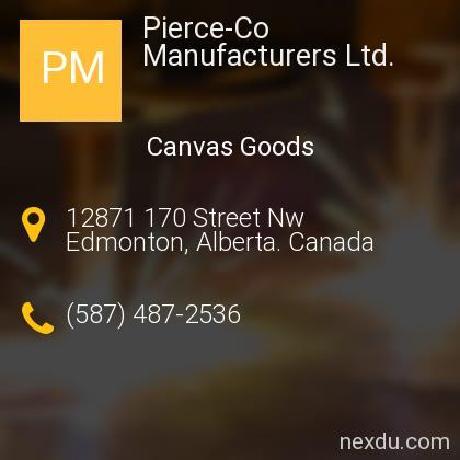 Pierce-Co Manufacturers Ltd.