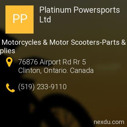 Platinum Powersports Ltd