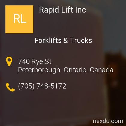 Rapid Lift Inc