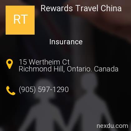 Rewards Travel China