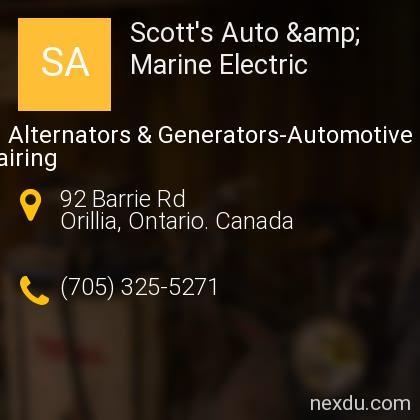 Scott's Auto & Marine Electric