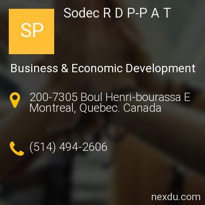Sodec R D P-P A T