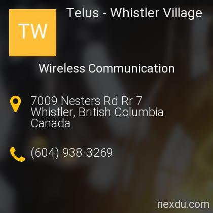 Telus - Whistler Village