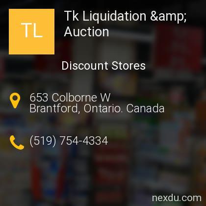 Tk Liquidation & Auction