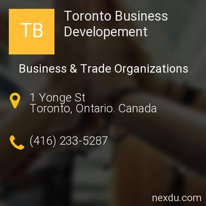 Toronto Business Developement