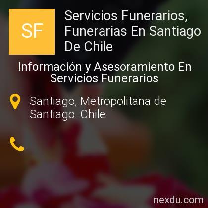 Servicios Funerarios, Funerarias En Santiago De Chile
