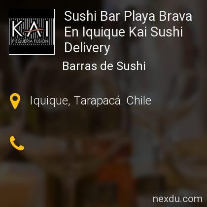 Sushi Bar Playa Brava En Iquique Kai Sushi Delivery