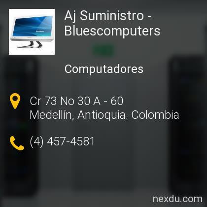 Aj Suministro - Bluescomputers