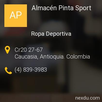 Almacén Pinta Sport