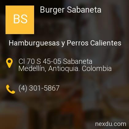 Burger Sabaneta