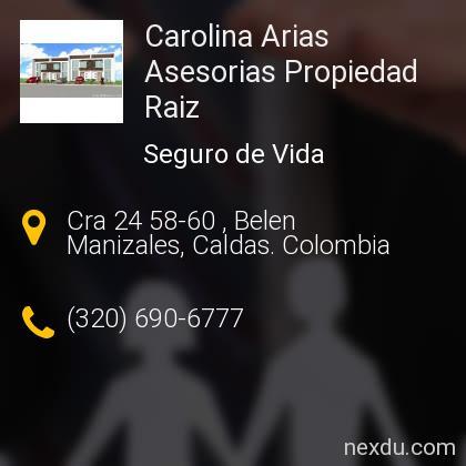 Carolina Arias Asesorias Propiedad Raiz