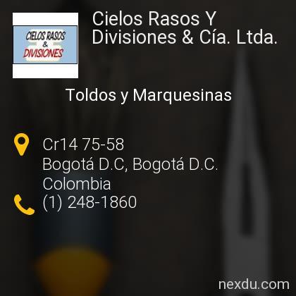 Cielos Rasos Y Divisiones & Cía. Ltda.