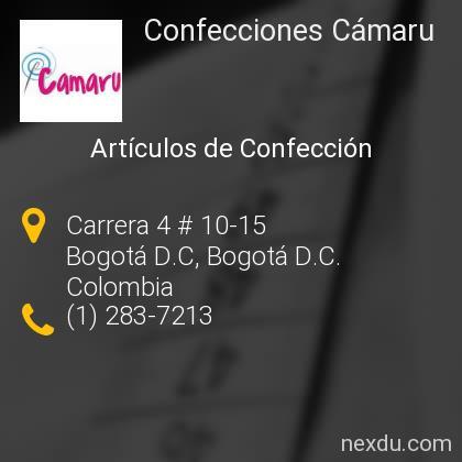 Confecciones Cámaru