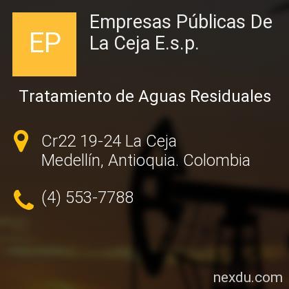 Empresas Públicas De La Ceja E.s.p.