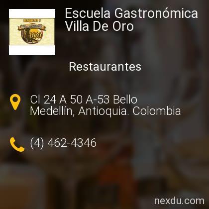 Escuela Gastronómica Villa De Oro