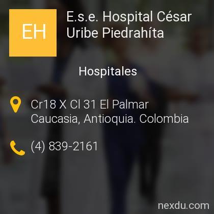 E.s.e. Hospital César Uribe Piedrahíta