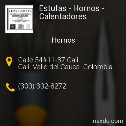Estufas - Hornos - Calentadores