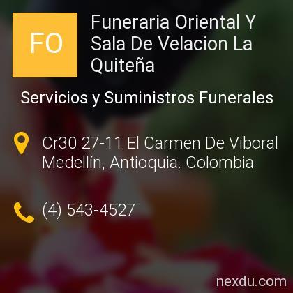 Funeraria Oriental Y Sala De Velacion La Quiteña